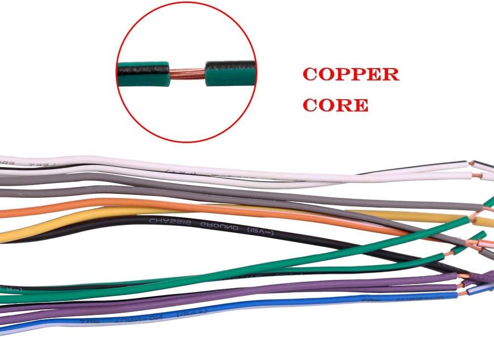 Adaptador de Cable de Radio estéreo para Coche y Antena para Algunos vehículos GM Chevrolet Pontiac Saturn