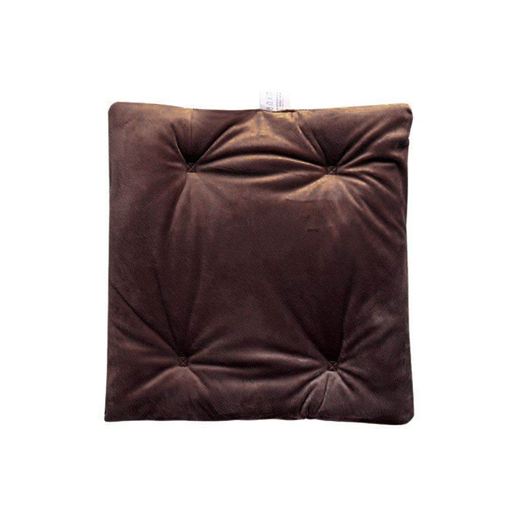 Electric Heating Chair Cushion, USB Heated Hand Warmer Car Folding Seat Pad Cushion, Safe Cushion 38x38cm(15x15inch) (Coffee)