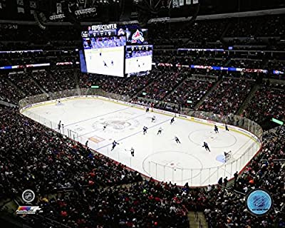 "Pepsi Center Colorado Avalanche NHL Stadium Photo (Size: 8"" x 10"")"