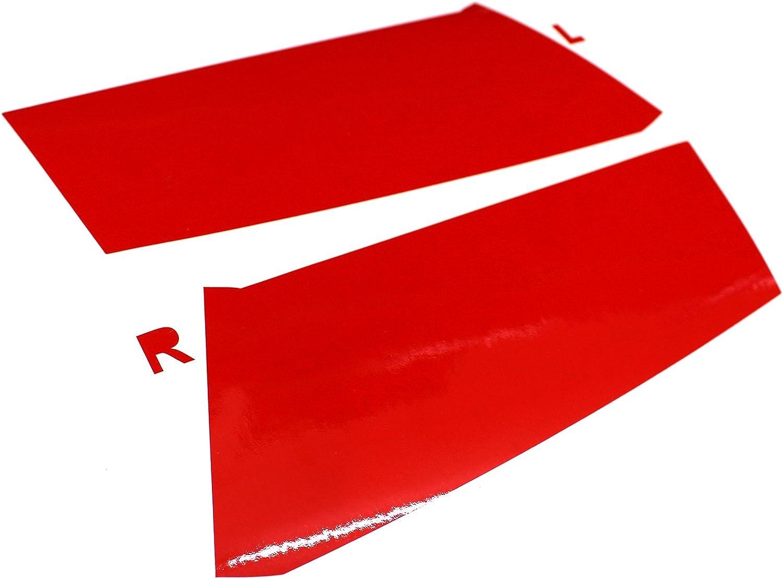 Red, C033 Kombi Facelift Finest Folia R/ückleuchten Folien Set Scheinwerfer Aufkleber T/önungsfolie passgenau