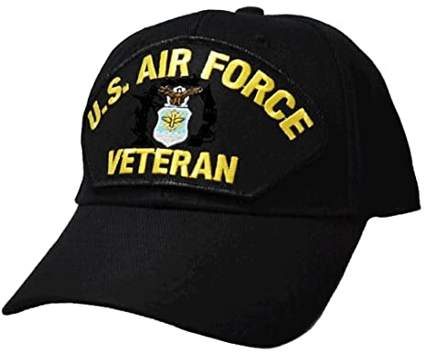 Image Unavailable. Image not available for. Color  US Air Force Veteran  Low-Profile Ball Cap 8c2a1635253