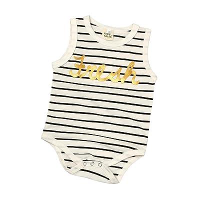 Baby's Romper, Anshinto Infant Kids Baby Stripes Cotton Romper Jumpsuit Clothes