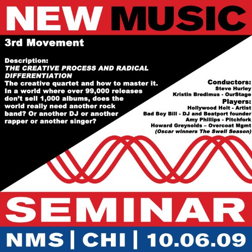 - New Music Seminar - Chicago - 10/6/09 [3rd Movement - The Creative Process And Radical Differentiation]