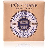 L'Occitane Extra Gentle Soap with Shea Butter, Milk, 100g