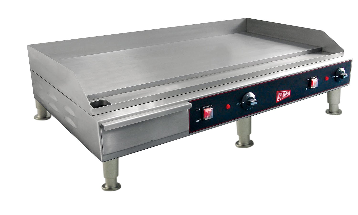 Grindmaster-Cecilware EL1636 Medium Duty Steel and Stainless Steel Electric Griddles, 36-Inch by Lee Global Imports and Consulting, Inc.