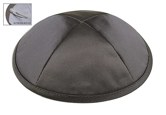97a1ca2d74fdf Amazon.com  Zion Judaica Deluxe Satin Kippot for Affairs or Everyday Use  Single or Bulk Orders - Optional Custom Imprinting Inside for Any Affair  (1PC