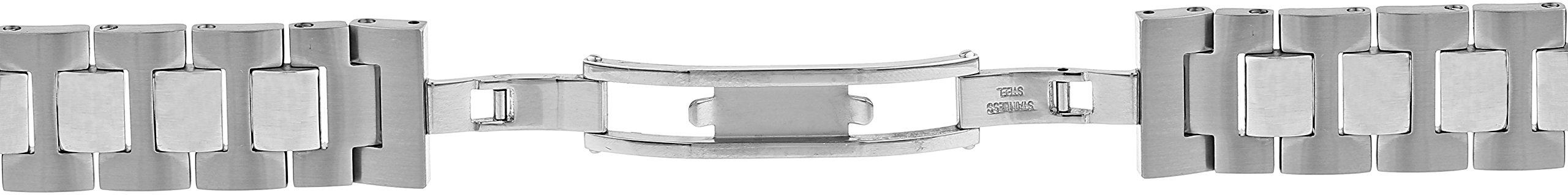Philip Stein 1-SS3 18mm Stainless Steel Silver Watch Bracelet by Philip Stein (Image #3)