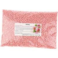 HOMYL 1000g No Strip Depilatory Hard Wax Beans Hot Film Wax Bead For Arm Leg Hair Removal Body Beauty - Rose