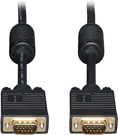 100 Pies 30m Vga Hd15 Super Cable Vga Macho a Macho M Vga L... M Del Monitor