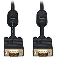 Tripp Lite VGA Coax Monitor Cable, High Resolution cable with RGB coax (HD15 M/M) 6-ft.(P502-006)