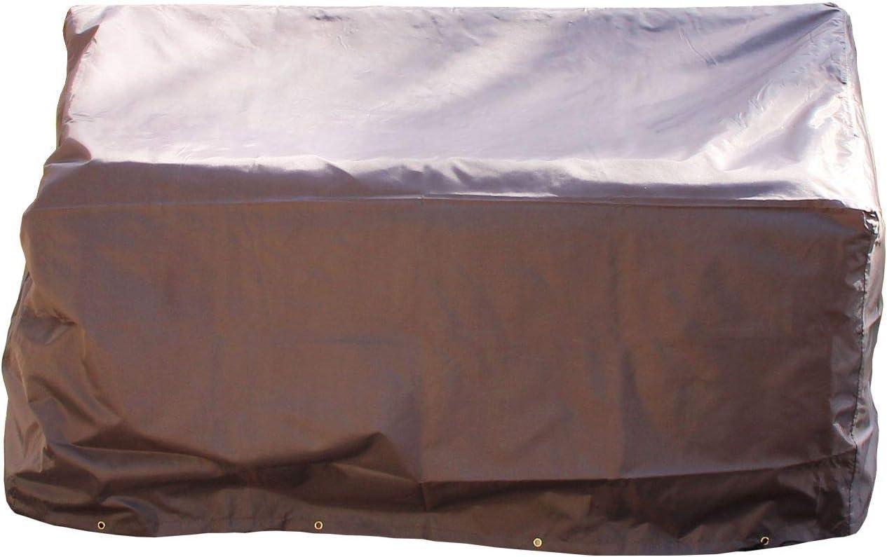 beige 134cm AFP Gartenm/öbel Schutzh/ülle Gartenbank Atmungsaktive Schutzhaube//Abdeckplane // 2 Jutes/äckchen Gratiszugabe Gartenm/öbel Abdeckung WOODSAFE