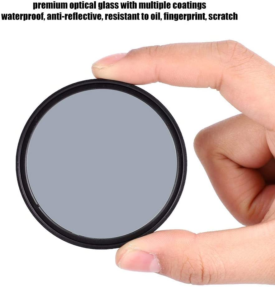 Taidda Ultra Slim Optical Glass Lightweight Portable Ultra Slim Frame Premium Optical Glass with Multiple Coated Neutral Density Filter for DSLR #6