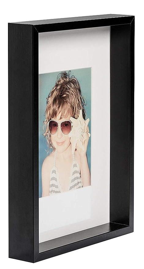 Bd Art A4 21 X 30 Cm Box Cadre Photo Avec Passe Partout 13 X 18 Cm Noir