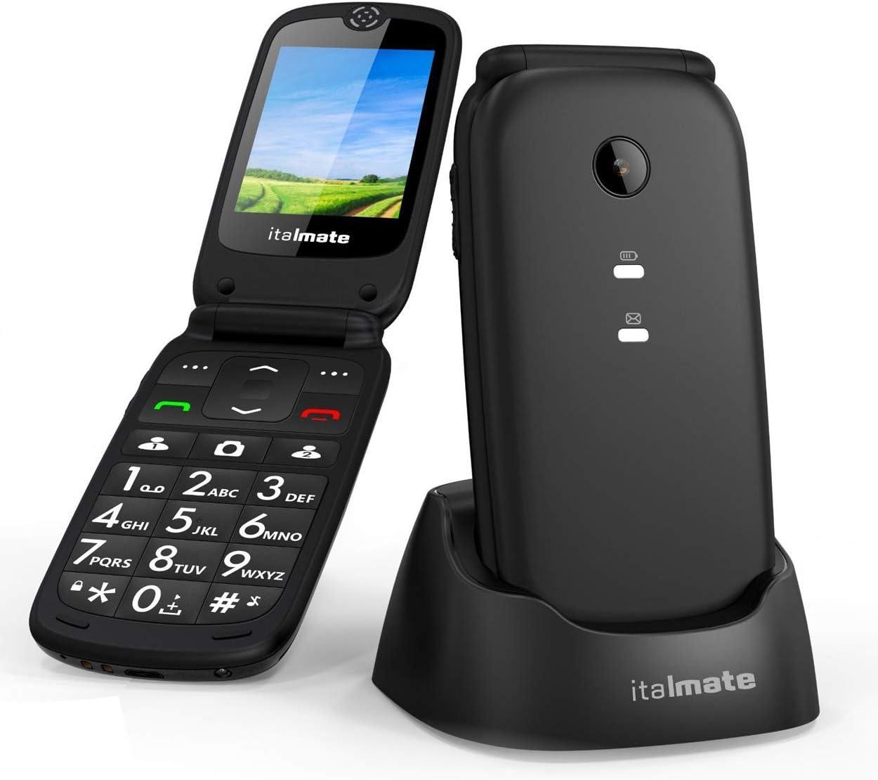 italmate teléfono para personas mayores de Concha Senior C18 Dual ...