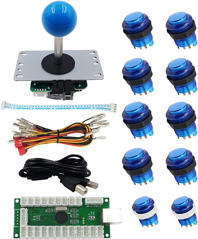 Sjjx Led Arcade Diy Kit Joystick Button Light Elektronik