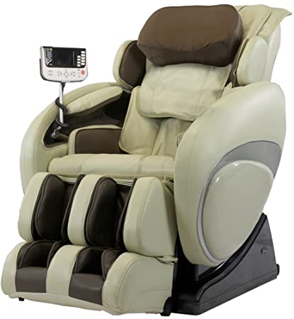 Osaki OS4000TD Model OS 4000T Zero Gravity Massage Chair, Cream, Computer  Body Scan