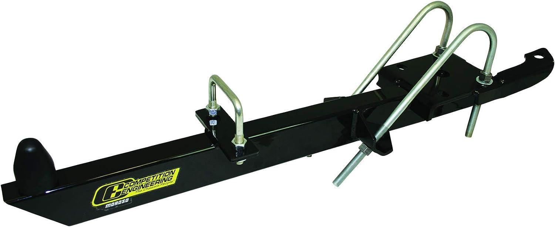 Competition Engineering C2109 Black Steel Leaf Spring Traction Bar Kit