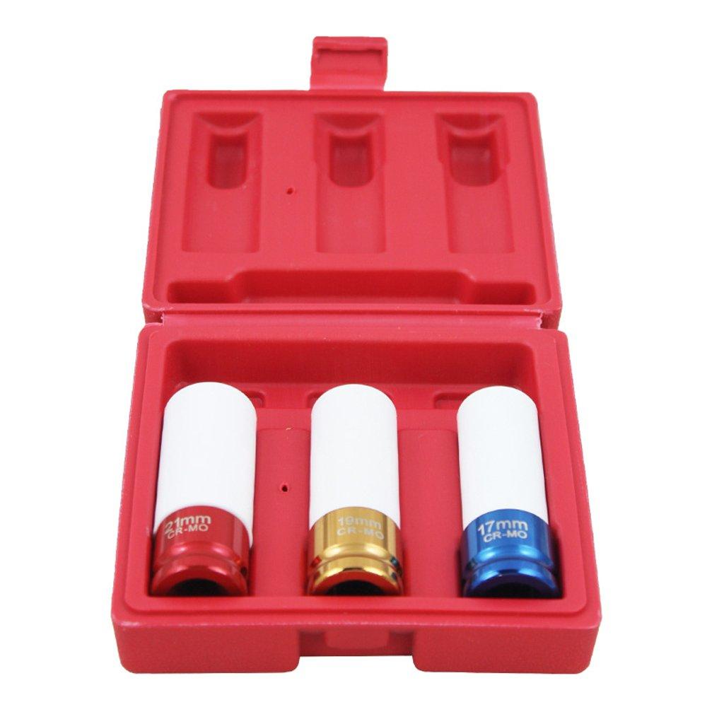 HENGDA/® 3/piezas Impacto de llantas Nuss Set 85/mm fuerza Uso