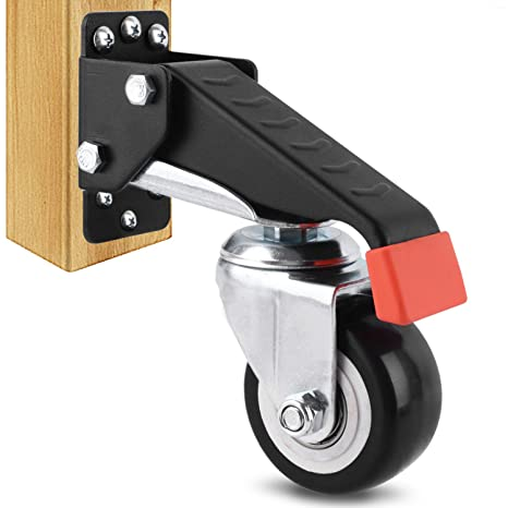 Details about  /Swivel Caster Wheels Trolley Heavy Duty for Factory Catering Shops Parts