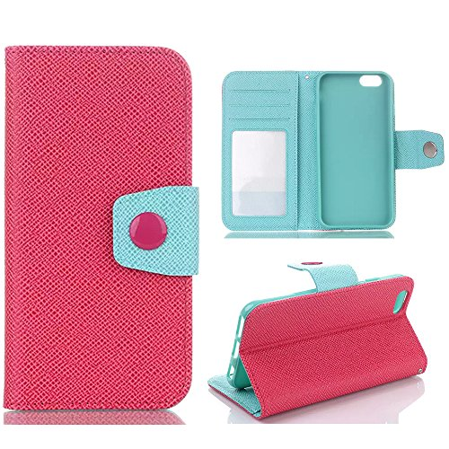 iPhone 6 Plus,Candywe iPhone 6 Plus [5.5] case,iPhone 6 Plus leahter,leather case for iPhone 6 Plus,Fashion Book Style Design Wallet leather Case Cover for iPhone 6 Plus 5.5 inch 2014 031