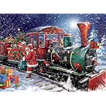 Ceaco Classic Christmas Puzzle - All Aboard Puzzle
