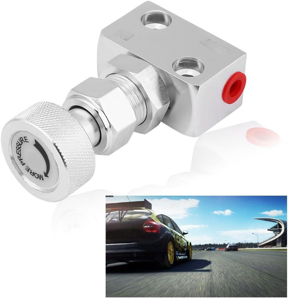 Proportion Valve Screw-type Aluminum Brake Proportion Valve Adjustable Prop Brake Bias Adjuster for Racing Car