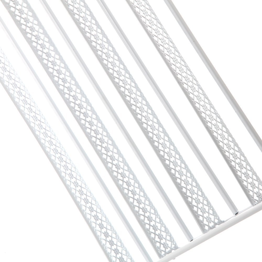 Dazone 6/Etagen DIY Metall Nagellack Rack Nagellack Wand Rack Organizer f/ür 120/Flaschen Nagellack wei/ß