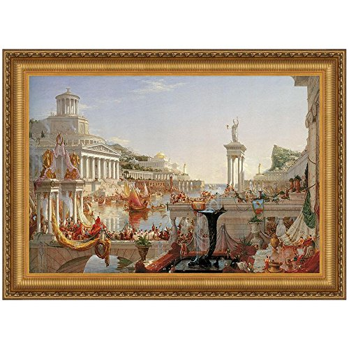 Design Toscano The Consummation of Empire, 1836 Canvas Replica Painting: Large by Design Toscano