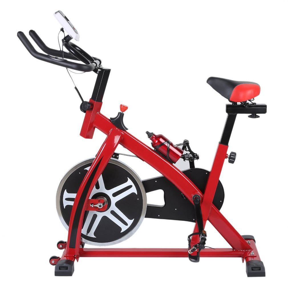 blackpoolal sp6901 Home trainer LCD Fitness Bicicleta Estática Bicicleta Fitness Bike Indoor Cycle Trimm - Rueda Cycling Sillín, fitness - Bicicleta ...