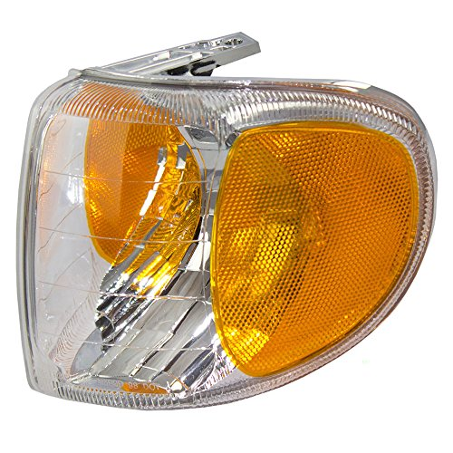 (Drivers Park Signal Corner Marker Light Lamp Replacement for Mercury SUV F87Z13201AB)