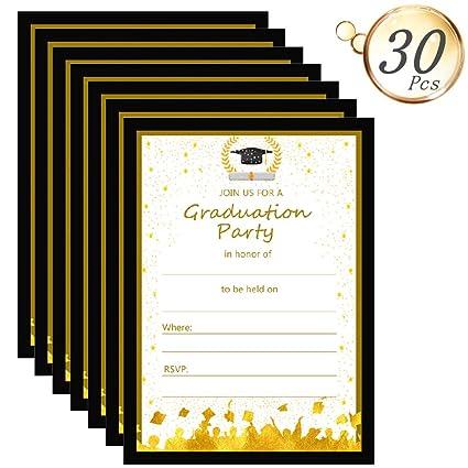 Amazon com: 2019 Graduation Party Invitations Cards, Aduck