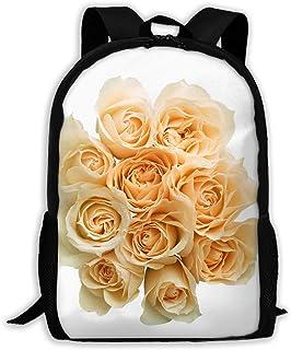 Backpacks Boy's Shoulder Bag Schoolbags School Season Flower Traveling Bags