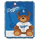 MLB Los Angeles Dodgers Baby Woven Jacquard Throw