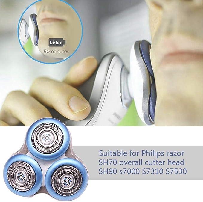 QYHSS Cabezal de Afeitado Repuesto Philips, Cabezales Eléctricos ...