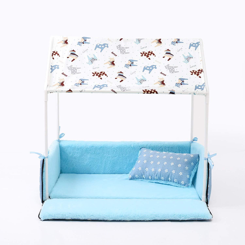 Amazon.com: TSG - Cama para perro, diseño de casa y tienda ...