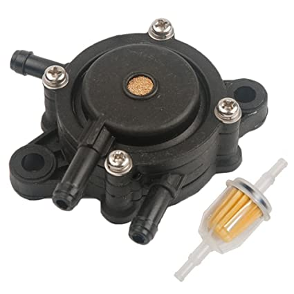 amazon com : hifrom fuel pump for john deere l120 l118 la105 with fuel  filter replace for kohler 25 050 03-s john deere am116304 ariens 21541500 :  garden &