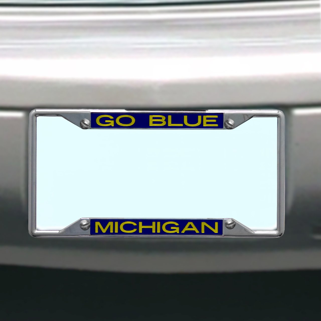 Amazon.com : NCAA Michigan Wolverines License Plate Frame : Sports ...