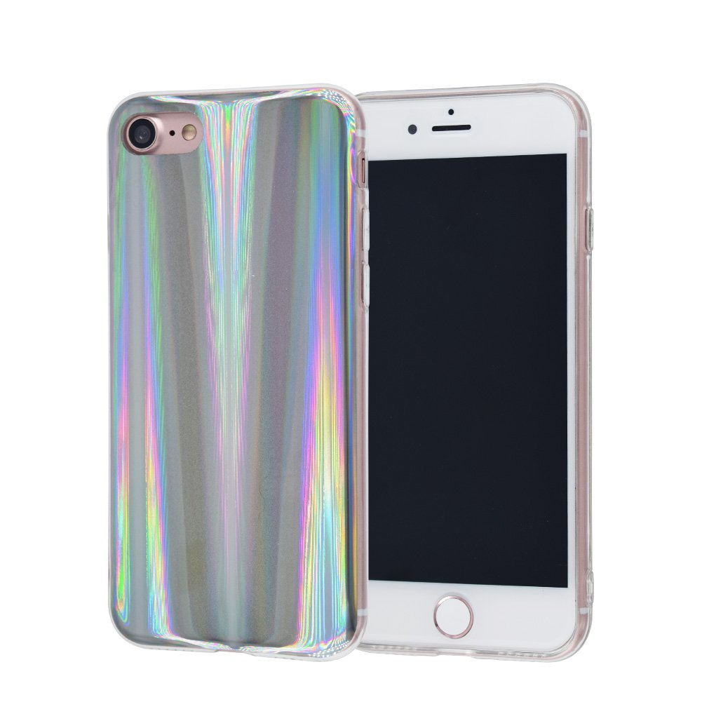 info for 2db93 a59ef iPhone 5S Case, FACEVER Psychedelic Holographic Rainbow Case for iPhone 5  iPhone 5s iPhone SE, Sparkle Shiny Colorful Laser Soft Protective Phone ...