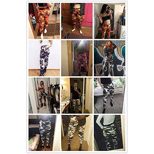 di Donna BOLAWOO Vintage Fashion Pantaloni Eleganti Training Pantalone Pantaloni Mode Sportivi Sportivi Accogliente Rosa Sportivi Outdoor marca Sciolto Casual Pantaloni Tuta Militari qPdq0xr