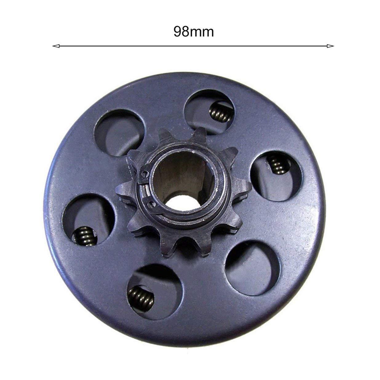 Banbie8409 Kupplung Fliehkraftkupplung 3//4 Bohrung 10 Tooth mit 40//41//420 Kette Go Kart Mini Bike