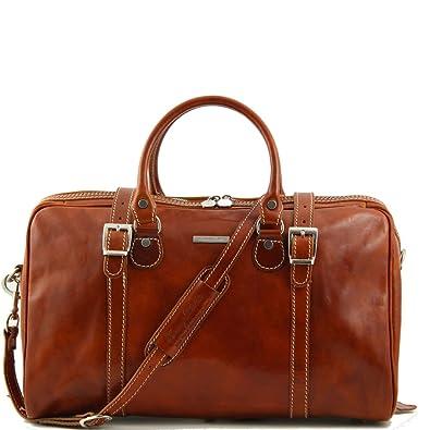 Sac Leather De Voyage Homme Miel Tuscany En Cuir nmN0w8