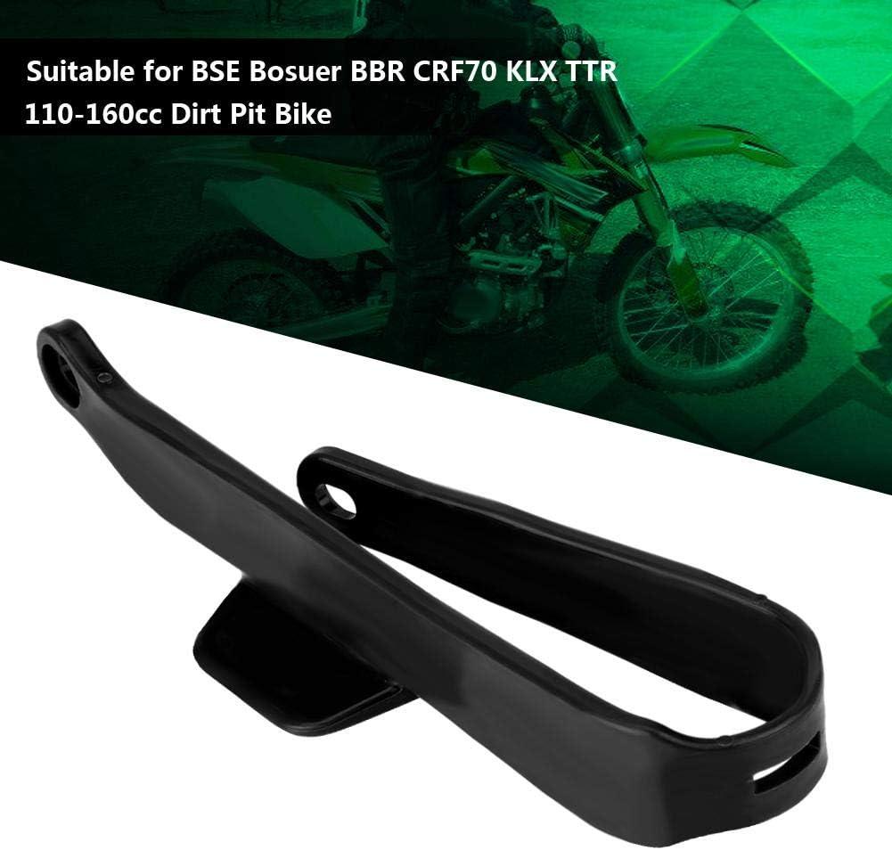 Schwingenschutz Motorradkettenschieber Schwingenschutzabdeckung Kettenschutz Für Bse Bosuer Schwarz Auto