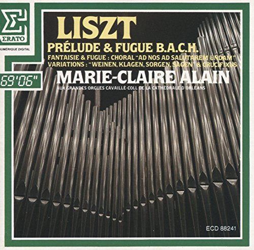 Franz Liszt: Marie-Claire Alain - The Great Organ Works