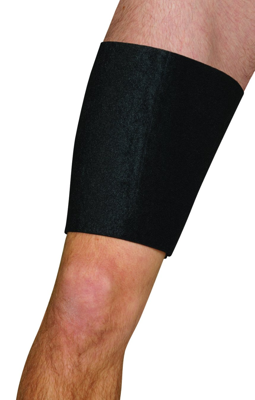 Blue Jay Universal Thigh Wrap - Thigh Wrap for Injury, High Performance Thigh Compression Sleeves, Neoprene, Hook-Receptive Material, Thigh Brace Support
