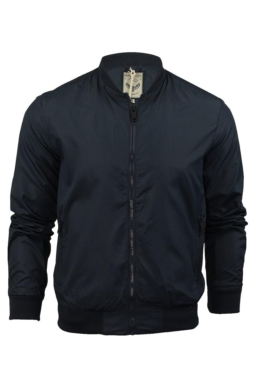 2789b422b30f6d Bomber Harrington Giacca Da Uomo Brave Soul Sanjay Estive Leggere MA1  Cappotto: Amazon.it: Abbigliamento
