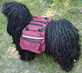 Dog Backpack/Harness Deluxe 2 in 1 Medium Red, My Pet Supplies