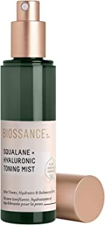 product image for Biossance Squalane + Hyaluronic Toning Mist - Hydrating + Plumping Facial Spray - No Parabens - Vegan + Fragrance-Free (75ml)