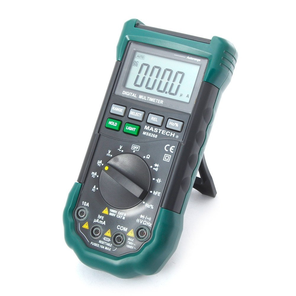 Mastech MS8268 Digital AC/DC Auto/Manual Range Digital Multimeter Meter by Mastech (Image #1)