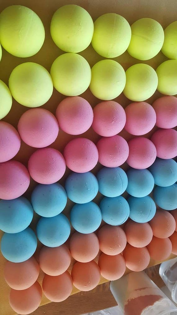 100 Bath Bombs 5.5 oz Private Label USA Seller by Wholesale Bath and Body Supplies