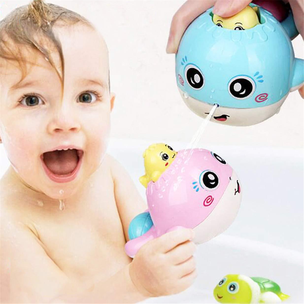 ejy b b bleu petite baleine enfant jouet de bain douche pulv risation deau baignoire jouet deau. Black Bedroom Furniture Sets. Home Design Ideas